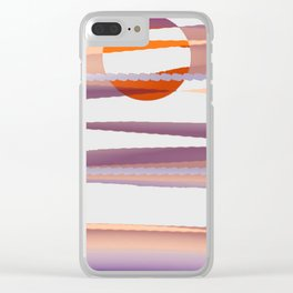 Abstract transparencies Clear iPhone Case