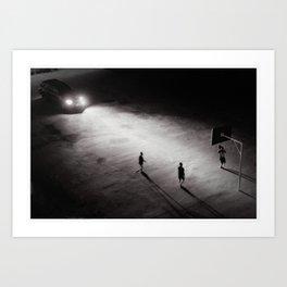 Game of Shadows Art Print