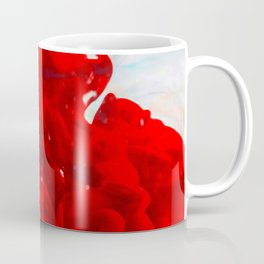 Red Ink Flow, What Does Your Subconscious Mind See? Coffee Mug