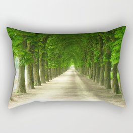 The gardens of the castle of Fontainebleau Rectangular Pillow
