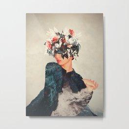 Kumiko Metal Print
