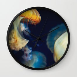 Dancing Jellyfish Wall Clock