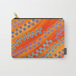 Colorful pearls on fire Carry-All Pouch