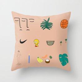 WWA Throw Pillow