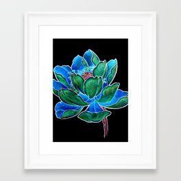 The Inverted Lily Framed Art Print