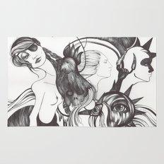 Retrato de Sirena Rug
