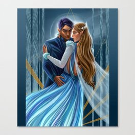 Starlight Feyre and Rhys Canvas Print