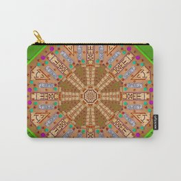 sweet crackers with chocolate mandala Carry-All Pouch