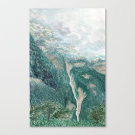 above val canzoi Canvas Print