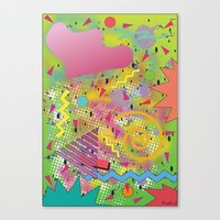 fresh prince Canvas Prints featuring Fresh Prince by TheArtGoon
