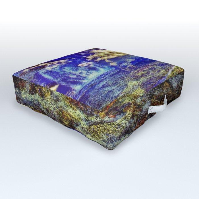 Mountain Moments Outdoor Floor Cushion