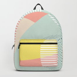 Lost In Shapes III #society6 #abstract Backpack