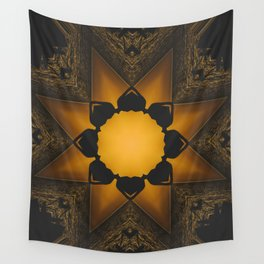 Romantic sunset Wall Tapestry