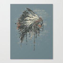 American Heritage (Dark) Canvas Print