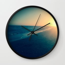 The calm on Sanibel Wall Clock