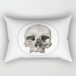 London Skull Rectangular Pillow