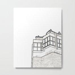 Architecture: Downtown Valencia Metal Print