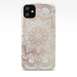 Mandala Gold Shine II iPhone Case