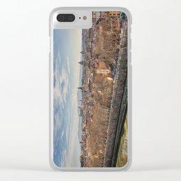 Rome Skyline Clear iPhone Case