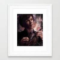 sherlock Framed Art Prints featuring Sherlock by jasric