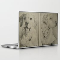 labrador Laptop & iPad Skins featuring Labrador  by JMck Artwork