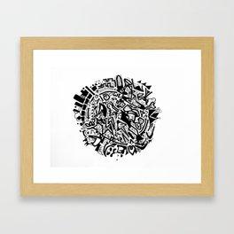 Doodleball Framed Art Print