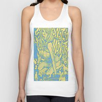 snatch Tank Tops featuring Attack Of The 50 Foot Snatch Monster  by S.D. Strobeck