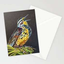 Meadowlark Song Stationery Cards