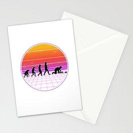 Paver Evolution Vaporwave Stone Setter Stationery Cards