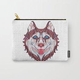 Husky Design Carry-All Pouch