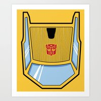 Transformers - Sunstreaker Art Print