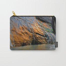 Virgin River Sunrise Zion National Park Carry-All Pouch