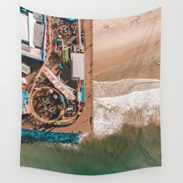 Amusement Park Wall Tapestry