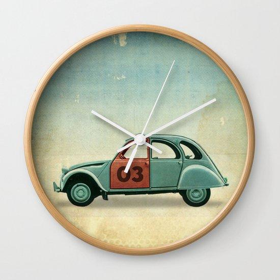 Number 03 _ Citron 2CV Wall Clock