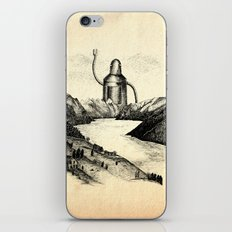 A Visitor From The North iPhone & iPod Skin