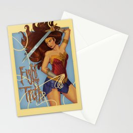 Fight for Truth Stationery Cards