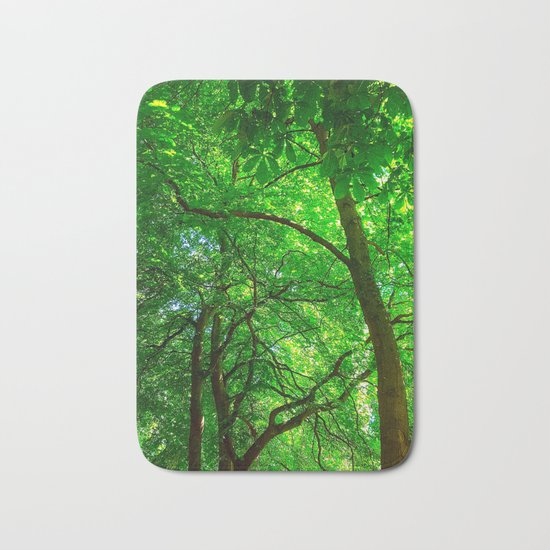Maple Canopy, Dreamy and Magical Light Bath Mat