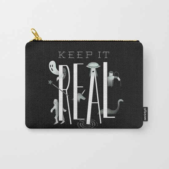 Keep it Real Carry-All Pouch