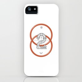 Roman Numerals iPhone Case
