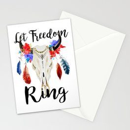 Let Freedom Ring, Fourth of July Shirt, 4th of July Shirt Women, 4th of July Shirt, 4th of July Stationery Cards