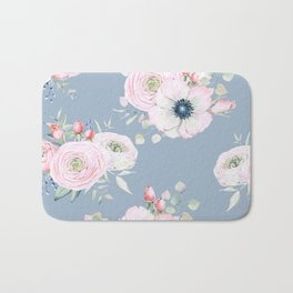 Dog Roses #society6 #buyart Bath Mat