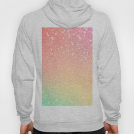 Glitter Pink Gold Mint Sparkle Ombre Hoody