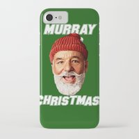 murray iPhone & iPod Cases featuring MURRAY CHRISTMAS by ACSM17H