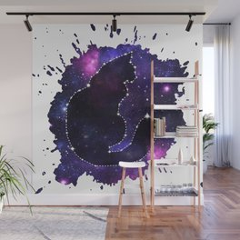 Cat Constellation Wall Mural