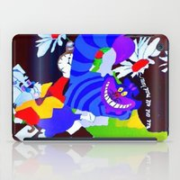 alice in wonderland iPad Cases featuring Wonderland  by Zero Two Thirteen