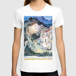 12,000pixel-500dpi - Chaim Soutine - View of Cagnes - Digital Remastered Edition T-shirt