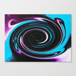 Ab Fab Twirly Girl Canvas Print
