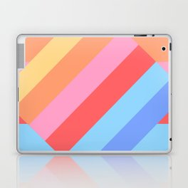 Matted Pastel Rainbow Layered Laptop & iPad Skin