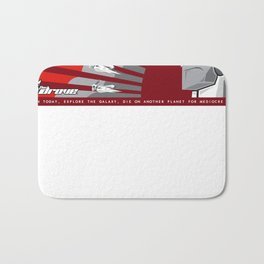 The Drove Propaganda  Bath Mat