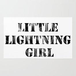 Little Lightning Girl   Red Queen Rug